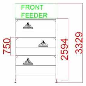 Broiler Cage Systems Broiler Models 2594-3329