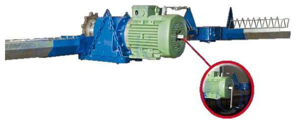 Channel Feeder Systems Suspension System Feed Distribution Motor