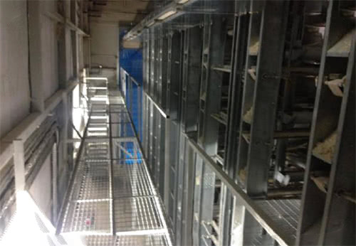 Layer Cage Systems Catwalk System
