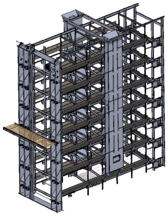 Layer Cage Systems Technical Specifications