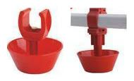 Nipple Water Drinking Systems Spring Bowl