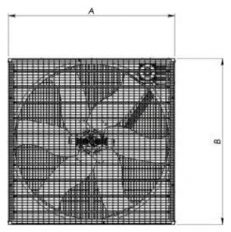Ventilation Systems EM-50 Series Dimensions